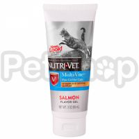 Nutri-Vet Multi-Vite НУТРИ-ВЕТ МУЛЬТИ-ВИТкомплекс витаминов и минералов для кошек, гель, 89 мл