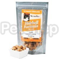Nutri-Vet Hairball НУТРИ-ВЕТ ВЫВЕДЕНИЕ ШЕРСТИ витаминный комплекс для шерсти котов, таблетки, 70 г