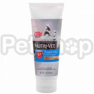 Nutri-Vet Puppy-Vite Gel НУТРИ-ВЕТ ПАППИ-ВИТ ГЕЛЬ витаминный гель для щенков до 9 месяцев, гель, 89 мл