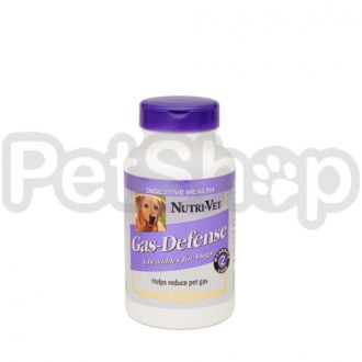 Nutri-Vet ПРОТИВ ГАЗОВ (Gas Defense) добавка для собак