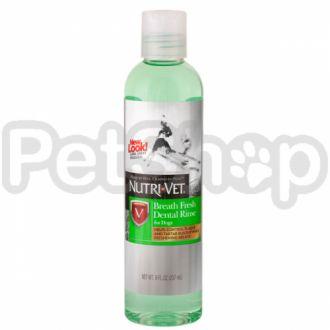 Nutri-Vet СВЕЖЕЕ ДЫХАНИЕ (Breath Fresh) жидкость от зубного налета для собак