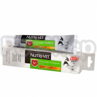 Nutri-Vet ЭНЗИМНАЯ ЗУБНАЯ ПАСТА (Enzymatic Toothpaste) для собак