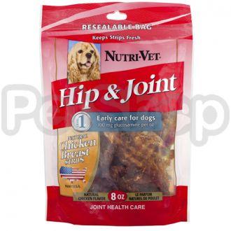 Nutri-Vet СВЯЗКИ И СУСТАВЫ (Hip&Joint) филе курицы с глюкозамином для собак