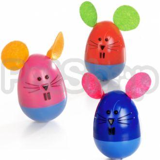 Pet Pro МЫШЬ НЕВАЛЯШКА игрушка для котов, пластик