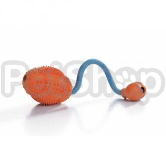 Pet Pro ДЕНТАЛ ГРУША с кордом игрушка для собак, резина