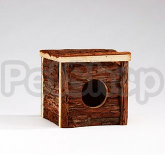 Pet Pro ФОРЕСТ КЛАССИК домик для грызунов, дерево, вишня