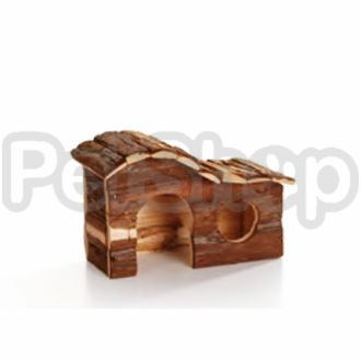 Pet Pro ФОРЕСТ АРКА домик для грызунов, дерево, вишня