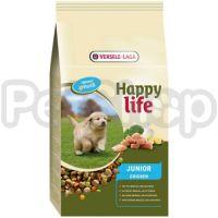Happy Life ЮНИОР с курицей (Junior Chicken) сухой премиум корм для щенков