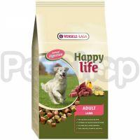 Happy Life ВЗРОСЛЫЙ с ягненком (Adult Lamb) сухой премиум корм для собак