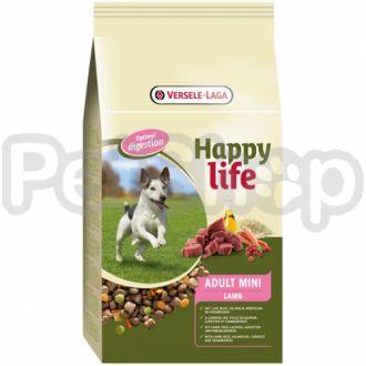 Happy Life МИНИ с ягненком (Adult Mini Lamb) сухой премиум корм для собак