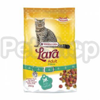 Lara ИНДУР (Indoor) сухой корм с выведением шерсти для домашних котов