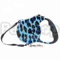 Fashion Walker рулетка-поводок для собак, голубая