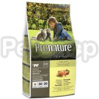 Pronature Holistic (Пронатюр Холистик) с курицей и бататом сухой холистик корм для котят