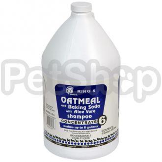 Ring5 Oatmeal-Baking Soda РИНГ5 ОВСЯНАЯ МУКА С СОДОЙ шампунь от зуда для собак и кошек