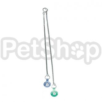 Ring5 Тяжелая хром (Heavy Chrome) плетенная цепочка для собак