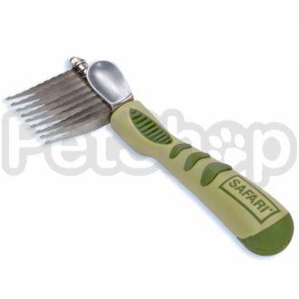 Safari Dematting Comb колтунорез прямой для собак и котов
