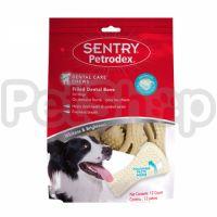 SENTRY Petrodex Dental Care СЕНТРИ УХОД ЗА ЗУБАМИ косточки с адгезивной зубной пастой для собак