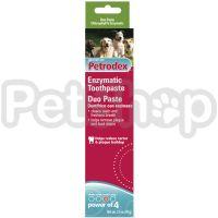 SENTRY Petrodex Duo Flavor СЕНТРИ ПЕТРОДЕКС ДУО ФЛЭЙВОР энзимная зубная паста для собак