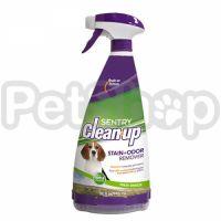 SENTRY CLEAN-UP S+O Remover СЕНТРИ КЛИН-АП ЗАПАХО- И ПЯТНОВЫВОДИТЕЛЬ с энзимами для собак и кошек