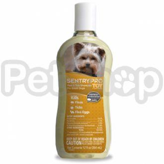 SENTRY PRO ТОЙ Toy Breed СЕНТРИ ПРО ТОЙ шампунь от блох и клещей для собак мини и малых пород