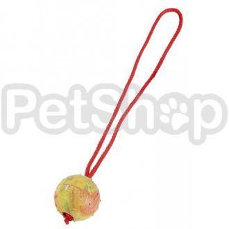 Sprenger резиновый мяч с ручкой для собак