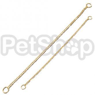 Sprenger круглое звено цепочка-ошейник для собак, 1,5 мм, позолоченная сталь