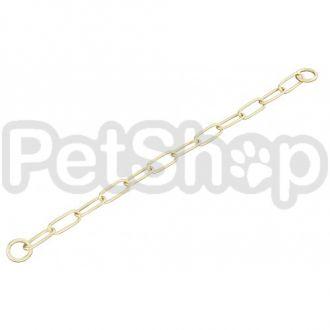 Sprenger Extra Long Link ошейник для собак, широкое звено, 4 мм, полированная латунь
