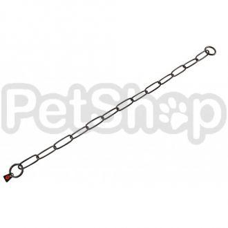 Sprenger Long Link ошейник-цепь для собак, широкое звено, 3 мм, черная сталь