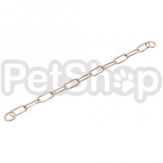 Sprenger Extra Long Link ошейник цепочка для собак, широкое звено, 4 мм, куроган сталь