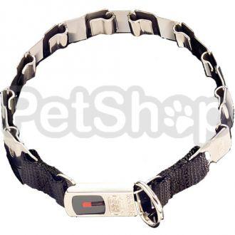 Sprenger NECK-TECH FUN строгий ошейник для собак, пластинчатый, с замком ClicLock, нержавеющая сталь