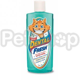 SynergyLabs СВЕЖЕСТЬ ЗУБОВ (Dental Fresh Cat) жидкость от зубного налета и запаха из пасти кошек