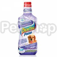 SynergyLabs СВЕЖЕСТЬ ЗУБОВ ЭДВАНСЕД (Dental Fresh Advanced) жидкость от зубного налета и запаха из пасти собак и кошек