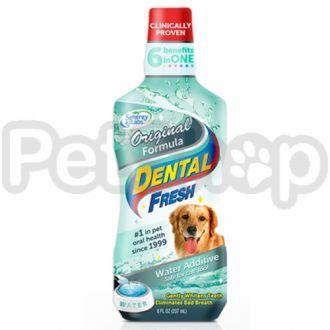 SynergyLabs СВЕЖЕСТЬ ЗУБОВ (Dental Fresh) жидкость от зубного налета и запаха из пасти собак и кошек