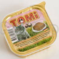 TOMi КРЕВЕТКИ (shrimps) консервы корм для кошек, паштет
