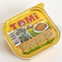 TOMi ПТИЦА ПЕЧЕНЬ (poultry, liver) консервы корм для кошек, паштет