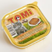 TOMi ИНДЕЙКА (turkey) консервы корм для кошек, паштет