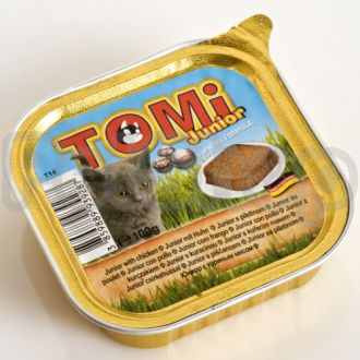 TOMi ДЛЯ КОТЯТ (junior) консервы корм для кошек, паштет