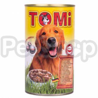 TOMi 3 ВИДА ПТИЦЫ (3 kinds of poultry) консервы корм для собак, банка