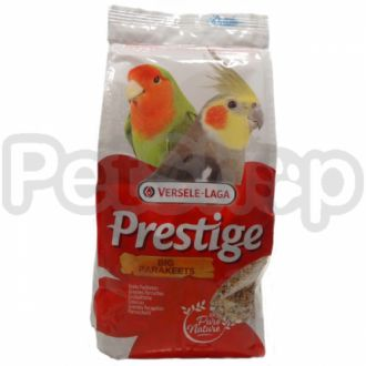 Versele-Laga Prestige СРЕДНИЙ ПОПУГАЙ (Cockatiels) зерновая смесь корм для средних попугаев