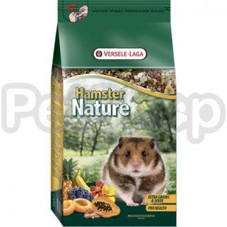 Versele-Laga Nature ХАМСТЕР НАТЮР (Hamster Nature) зерновая смесь супер премиум корм для хомяков
