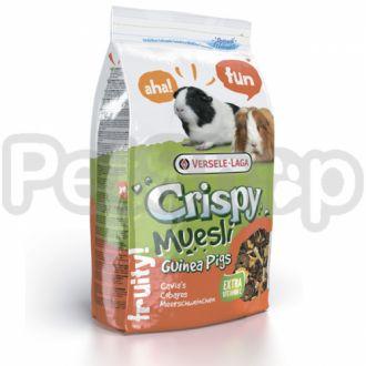 Versele-Laga Crispy Muesli МОРСКАЯ СВИНКА (Cavia) зерновая смесь корм с витамином C для морских свинок