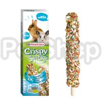 Versele-Laga Crispy Sticks ГОРНАЯ ДОЛИНА зерновая смесь лакомство для кроликов и шиншилл