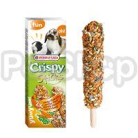 Versele-Laga Crispy Sticks МОРКОВКА УКРОП зерновая смесь лакомство для кроликов и морских свинок