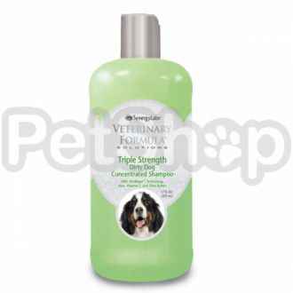 Veterinary Formula ТРОЙНАЯ СИЛА (Triple Strength Dog Shampoo) шампунь для собак и кошек