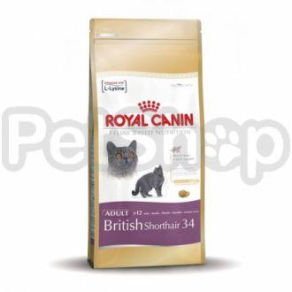 Royal Canin Kitten British Shorthair (повседневный корм для британской короткошерстной кошки)