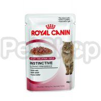 Royal Canin INSTINCTIVE IN JELLY ( роял канин инстинктив в желеПолнорационный влажный корм для кошек старше 1 года)
