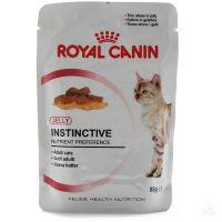 Royal Canin INSTINCTIVE IN gravy ( роял канин инстинктив в соусе Полнорационный влажный корм для кошек старше 1 года)