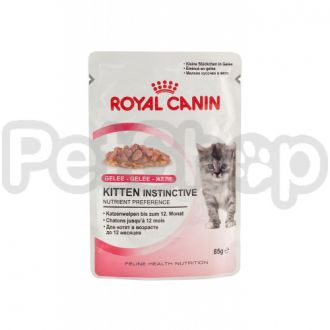 Royal Canin Kitten Instinctive in Jelly (роял канин киттен корм для котят в в желе)