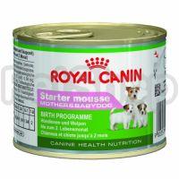 Royal Canin Starter Mousse  ( роял канин стартер мусс влажный корм для щенков от момента отъема до 2 месяцев)