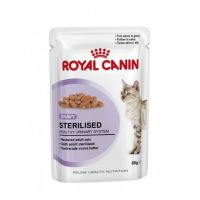 Royal Canin Sterilised (роял канин стерилайз влажный корм для стерилизованных кошек старше 1 года  (тонкие кусочки в соусе))